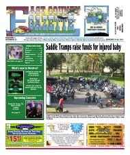 Gazette 012011 Subscribers.indd - East County Gazette