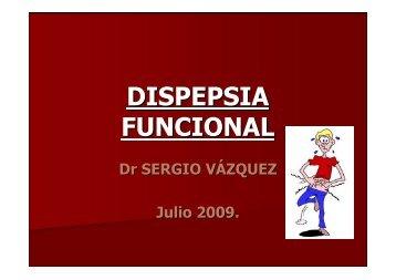 Dispepsia funcional - Clínica de Gastroenterología.