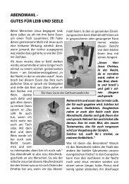 abendmahl - Gethsemanekirche-wuerzburg.de
