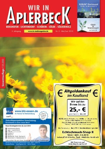Neu in Aplerbeck - Dortmunder & Schwerter Stadtmagazine