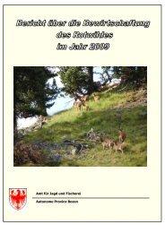 Amt für Jagd und Fischerei Autonome Provinz Bozen