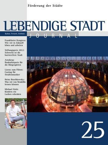 Aktuelles Journal - Lebendige Stadt