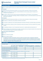 66268 Strat fund Form - Private Clients - Standard Bank