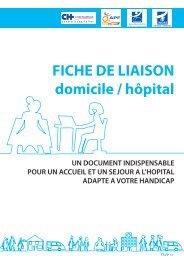 FICHE DE LIAISON domicile / hôpital - Conseil général de l'Indre