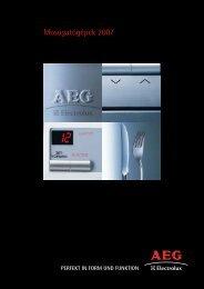 AEG - Electrolux mosogatógépek - Hűtő..S