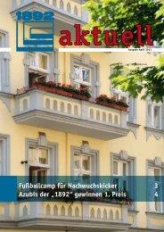 April 2011 - Berliner Bau- und Wohnungsgenossenschaft von 1892 eG