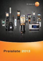 Preisliste 2013 - Felderer