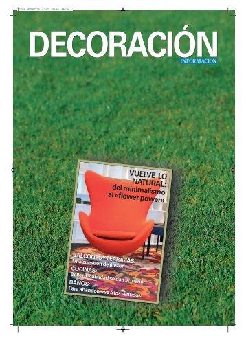Especial: DECORACION