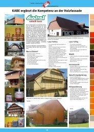 Fassadenzeitung Seite 18 bis 20 (PDF 1061 kb) - KABE Farben