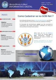 Como Cadastrar-se no GOB-Net ?