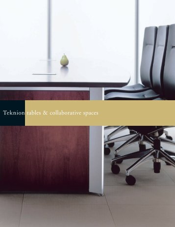 tables & collaborative spaces - The Office Furniture Group.