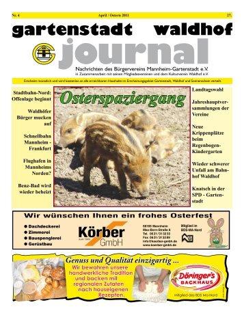 gartenstadt waldhof journal Ausgabe 5 2011 GAJO_04_2011.pdf
