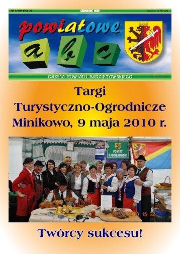 Powiatowe ABC - czerwiec 2010 - Powiat Radziejowski