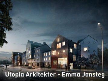 Utopia Arkitekter - Emma Jonsteg