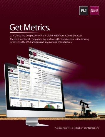 Get Metrics.