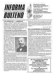Jarkunveno, Ordinara Asembleo - Federazione Esperantista Italiana