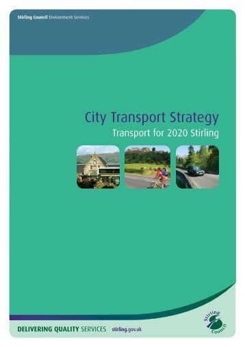 City Transport Strategy - Stirling Council