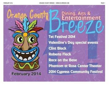 FEBRUARY 2014 ORANGE COUNTY BREEZE • WWW.OC ...