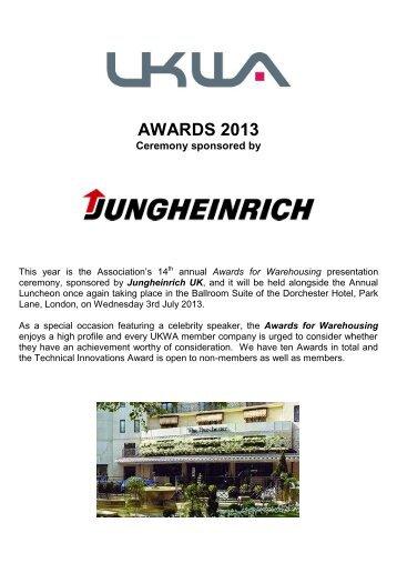 awards 2013 entry form
