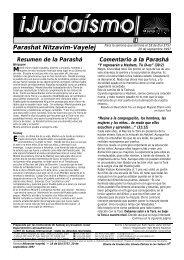 Parashat Nitzavim-Vayelej M - Ohr Somayach