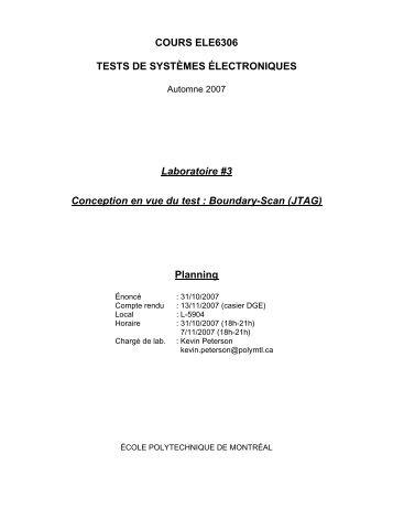 ele6306 - Cours - École Polytechnique de Montréal