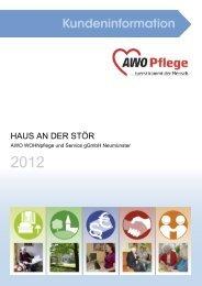 Wer ist jetzt für mich da? - AWO Pflege Schleswig-Holstein gGmbH
