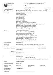 Protokoll 2012-11-22 - Strömsunds kommun