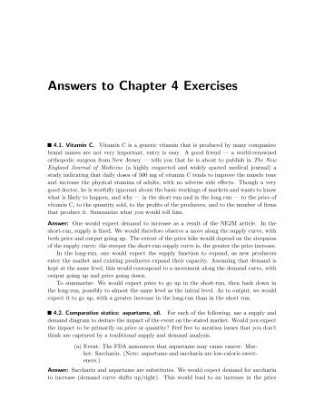 Answers to Chapter 4 Exercises - Luiscabral.net