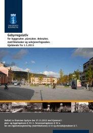 Gebyrregulativ - Drammen kommune