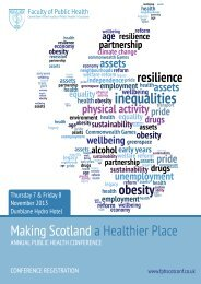 greenspace - Making Scotland a Healthier Place