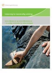 Last ned brosjyren - Nettverk for miljølære