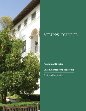the position prospectus - Scripps College