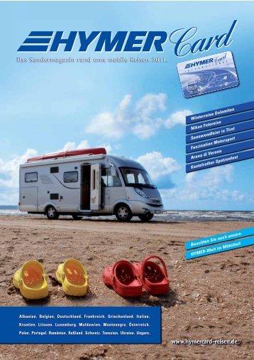 mit Ihren HymerCard-Reisen 2011! - HYMER.com