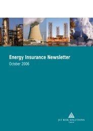 Energy Insurance Newsletter - October 2006 - JLT