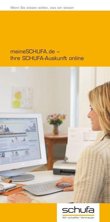 meineSCHUFA.de – Ihre SCHUFA-Auskunft online - HNA