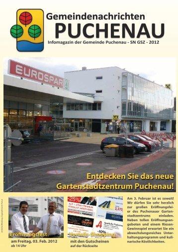 Neue Heimat Gartenstadtzentrum Ihr ... - Puchenau