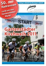 Gartenstädter Kirchweih 2011 - Bürgerverein Gartenstadt