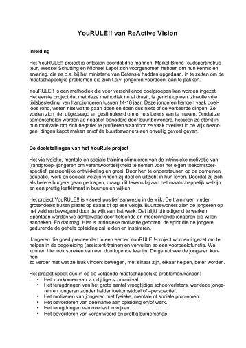 2012-05-02 Voordracht YouRULE - Kennisbank