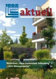 Neue Gartenstadt Falkenberg - Berliner Bau- und ...