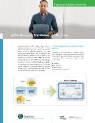 eSOA Business Transformation Solution - Cognizant