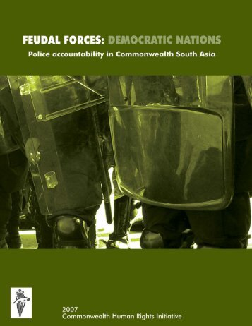 Feudal Forces: Democratic Nations - Police Accountability in