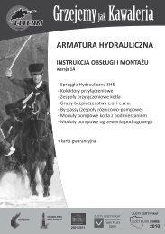 instrukcja obsługi - armatura - Elterm