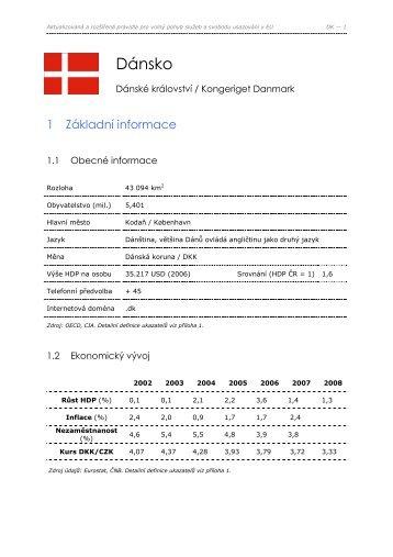 Dánsko - Centrum pro regionální rozvoj ČR