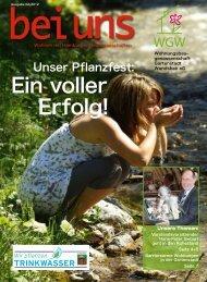 bei uns 02/2012 - Wohnungsbaugenossenschaft Gartenstadt ...