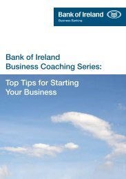 Bank of Ireland Business Coaching Series: Top ... - Business Banking