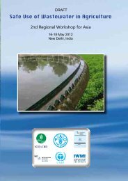 Safe Use of Wastewater in Agriculture - International Commission on ...