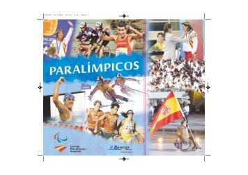 Descárgate Paralímpicos en pdf - Comité Paralímpico Español