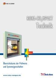 ROKA-COMPACT - Übersichtskarte der Prüfwerte und ... - Beck+Heun