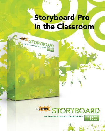 Storyboard Pro in the Classroom - Toon Boom Animation