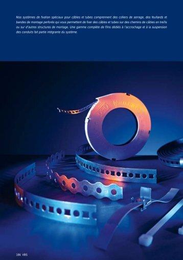 VBS. Systèmes de fixation pour câbles et tubes ... - OBO Bettermann